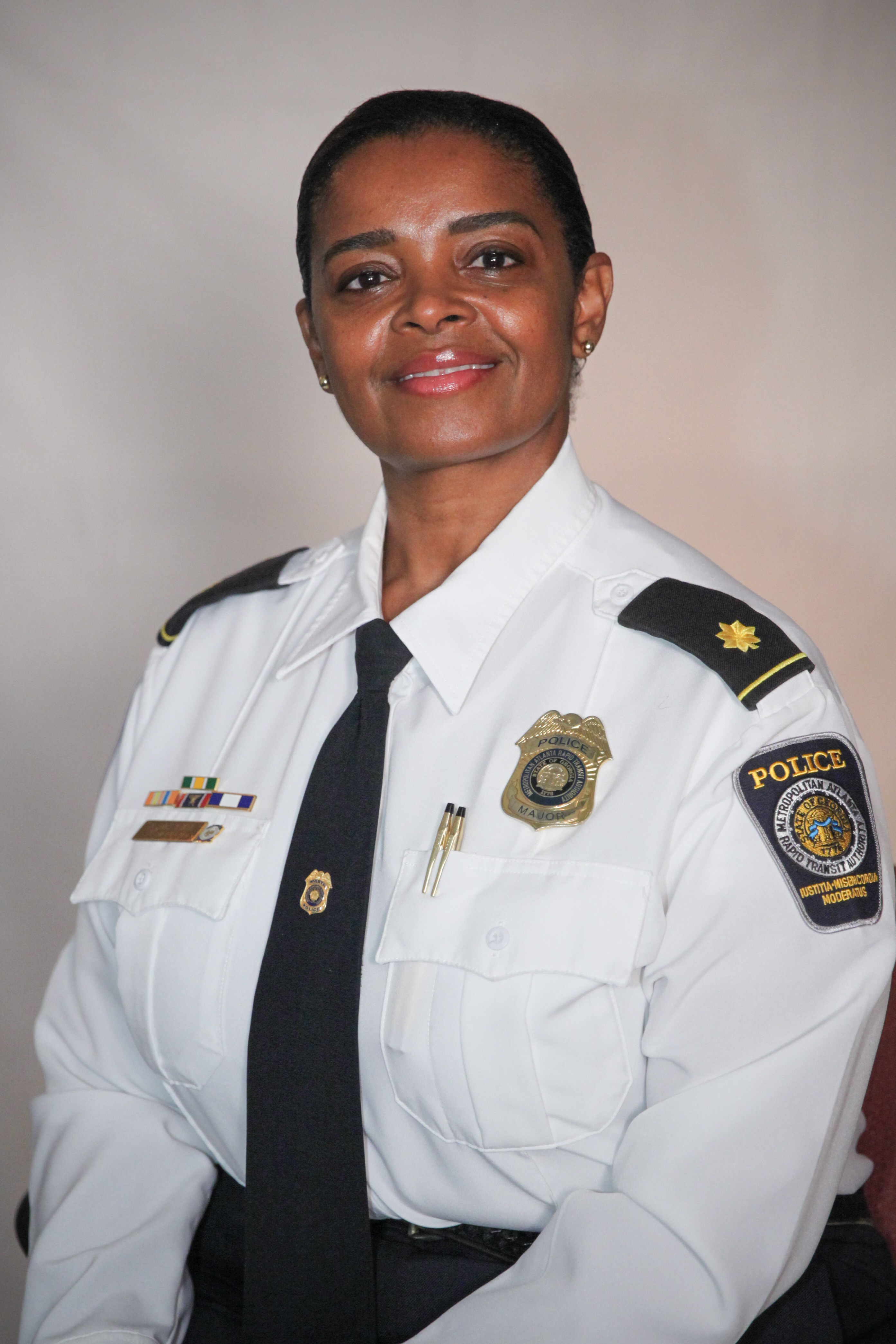 MPD Major Pearlie McKinzie